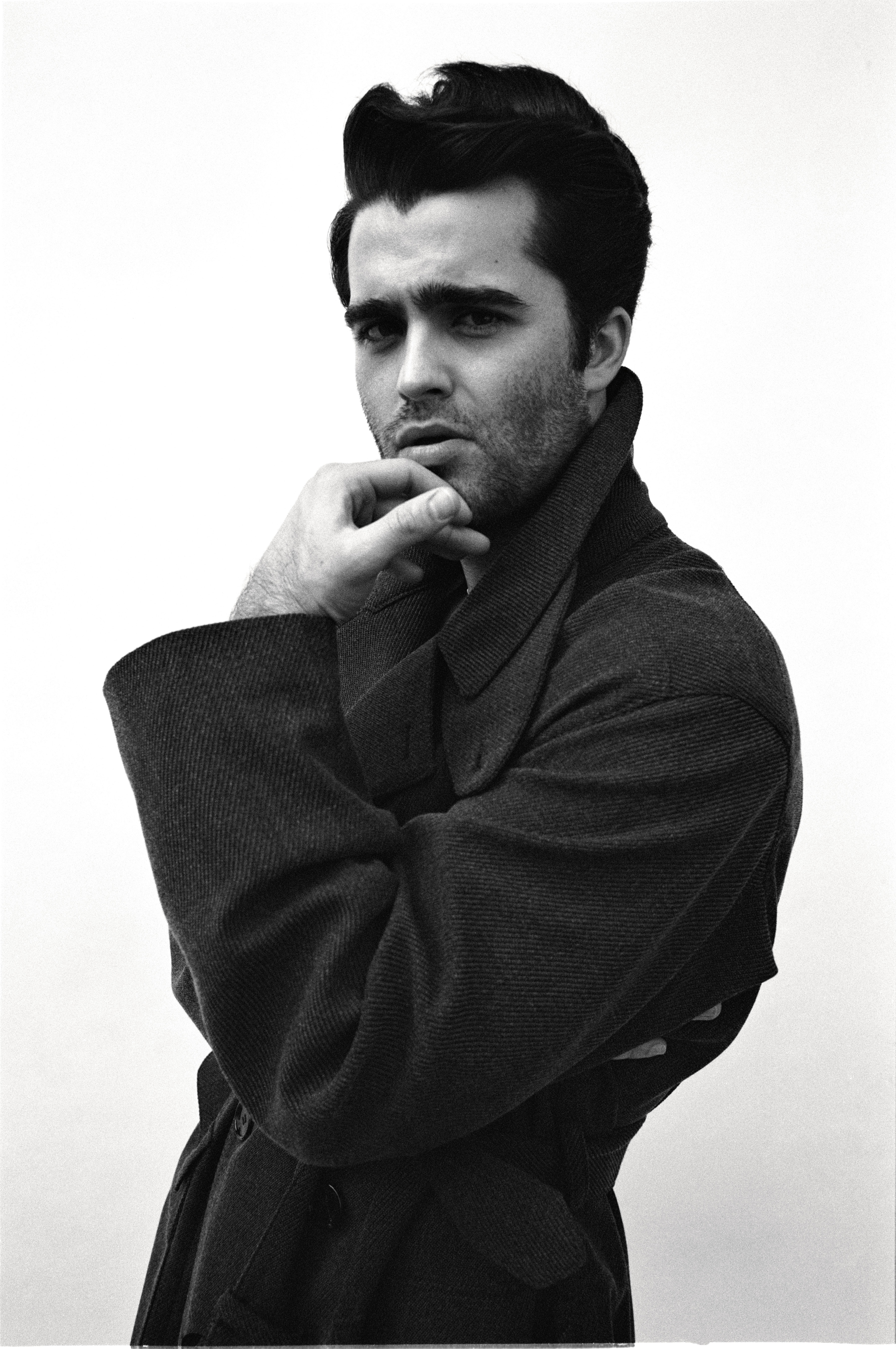 Actor Spencer Boldman Photographed by Cameron McCool for i-D magazine The Superstar Issue