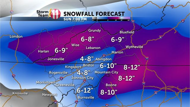 A Winter Storm is on the way for the weekend with snowfall accumulations likely