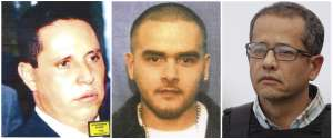 This photo combination shows three former associates of Mexican drug lord Joaquin