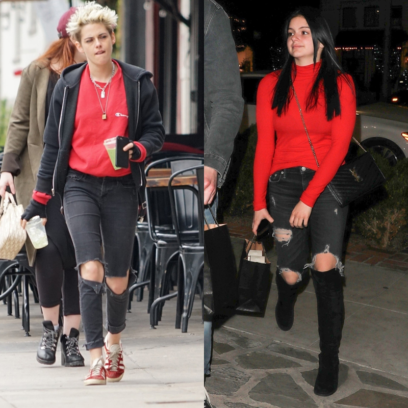 a51ea4f658792 Kristen Stewart Vs. Ariel Winter: Which Young Actress Rocks Ripped Jeans  Better? See Pics