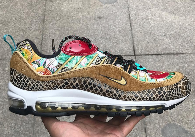 """cheap for discount 9f91a b2143 First Look At The Nike Air Max 98 """"Chinese New Year ..."""