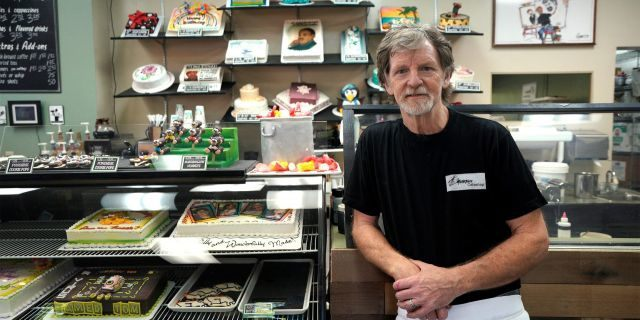 Attorneys for a Colorado baker, Jack Phillips, owner of Masterpiece Cakeshop, who refused to make a wedding cake for a gay couple on religious grounds — a stand partially upheld by the U.S. Supreme Court — argued in federal court Tuesday that the state is punishing him again over his refusal to bake a cake celebrating a gender transition. (Reuters/Rick Wilking)