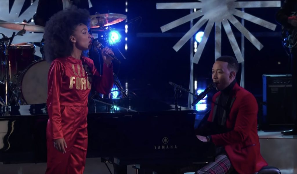 See John Legend, Esperanza Spalding's 'Have Yourself a Merry