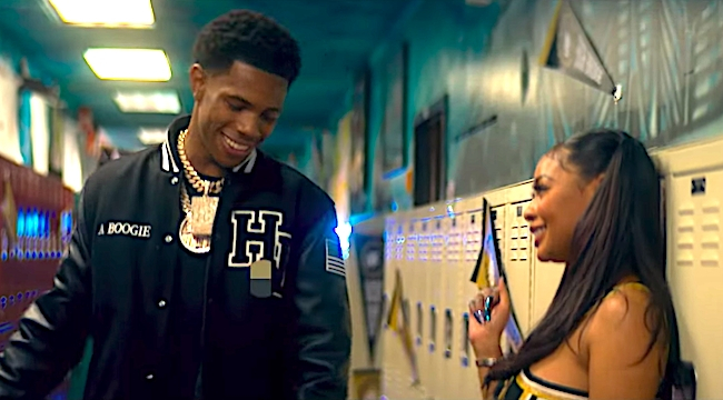 A Boogie Wit Da Hoodie And Backpack Kid Pay Homage To