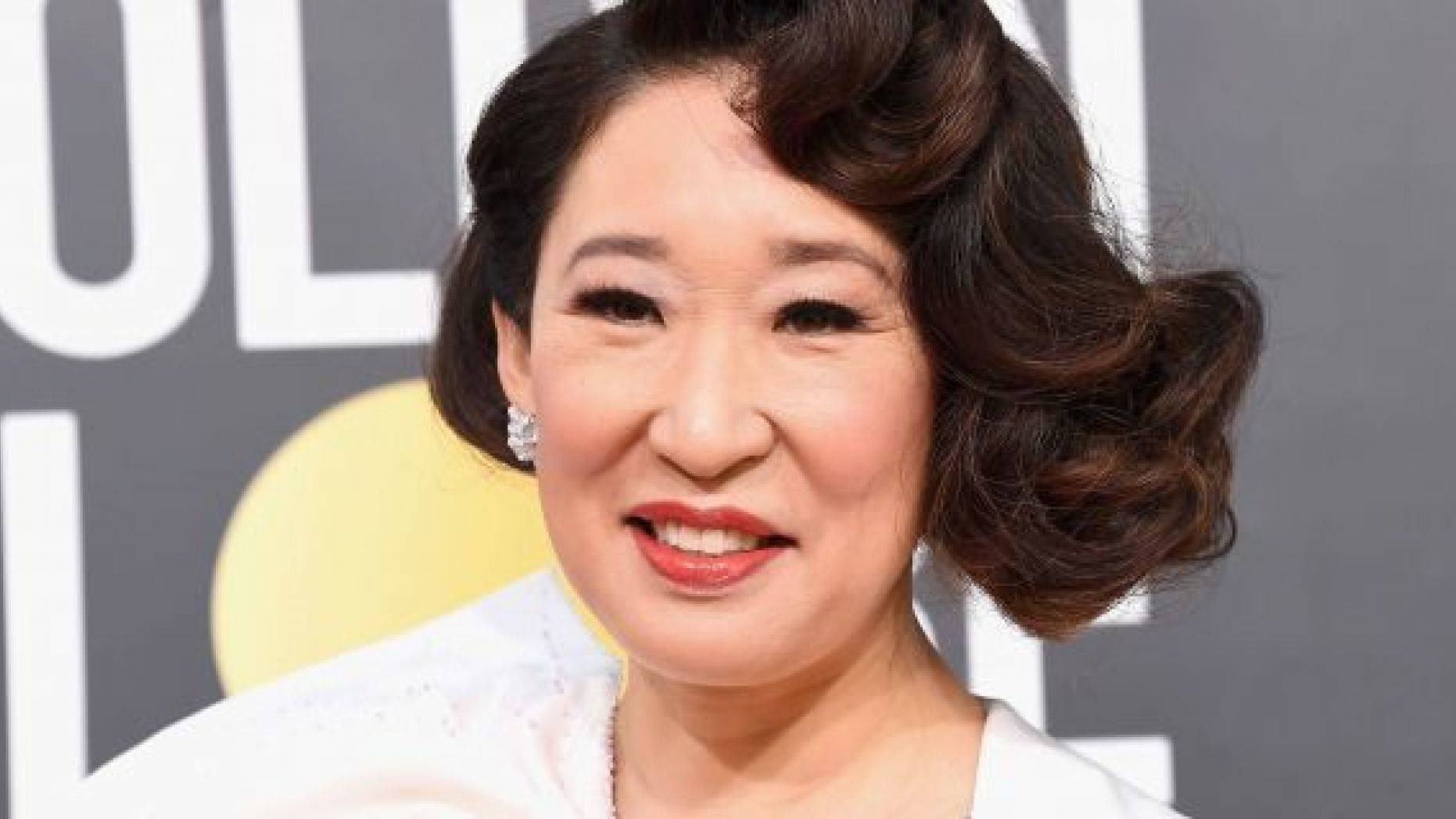 Sandra Oh attends the 76th Annual Golden Globe Awards at The Beverly Hilton Hotel on January 6, 2019 in Beverly Hills, California.