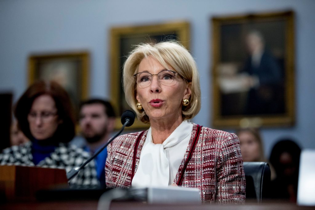 Devos Scraps More Out Of Date Federal >> Betsy Devos Vs The Special Olympics E News Us