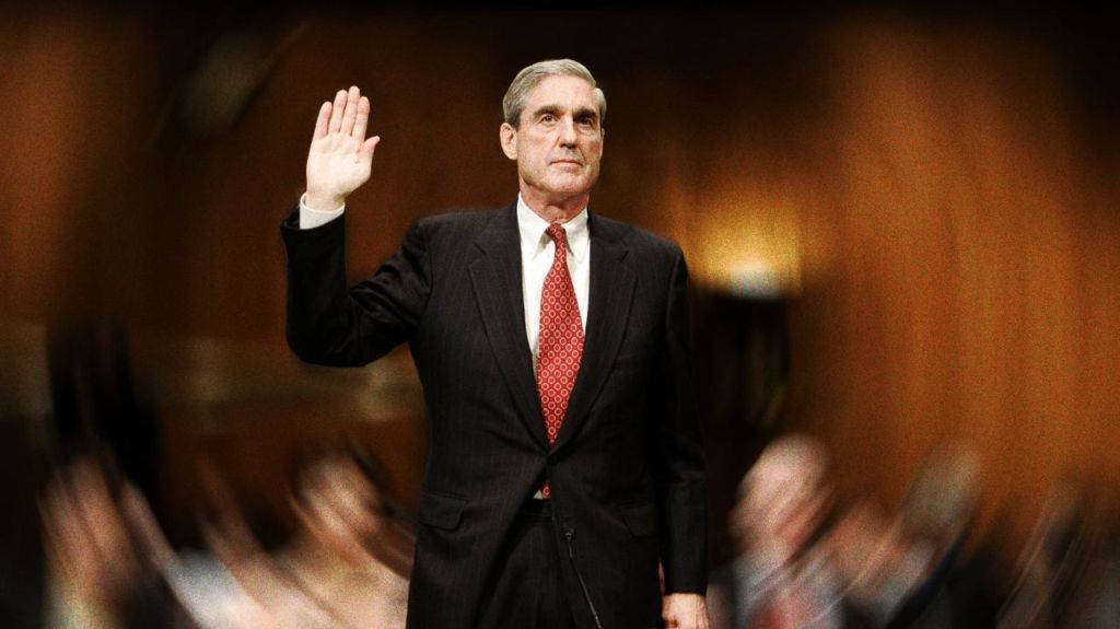 Image result for public domain image of Robert Mueller Testifies