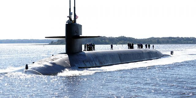 US Navy sub test-launches missile, following North Korea