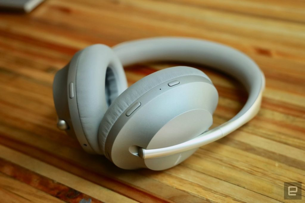 c14f4a9aec2 A closer look at the Bose 700 noise-cancelling headphones – Engadget ...