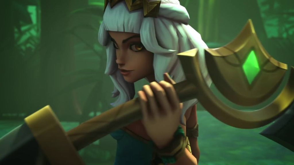 League of Legends – Qiyana: Empress of the Elements Champion Trailer