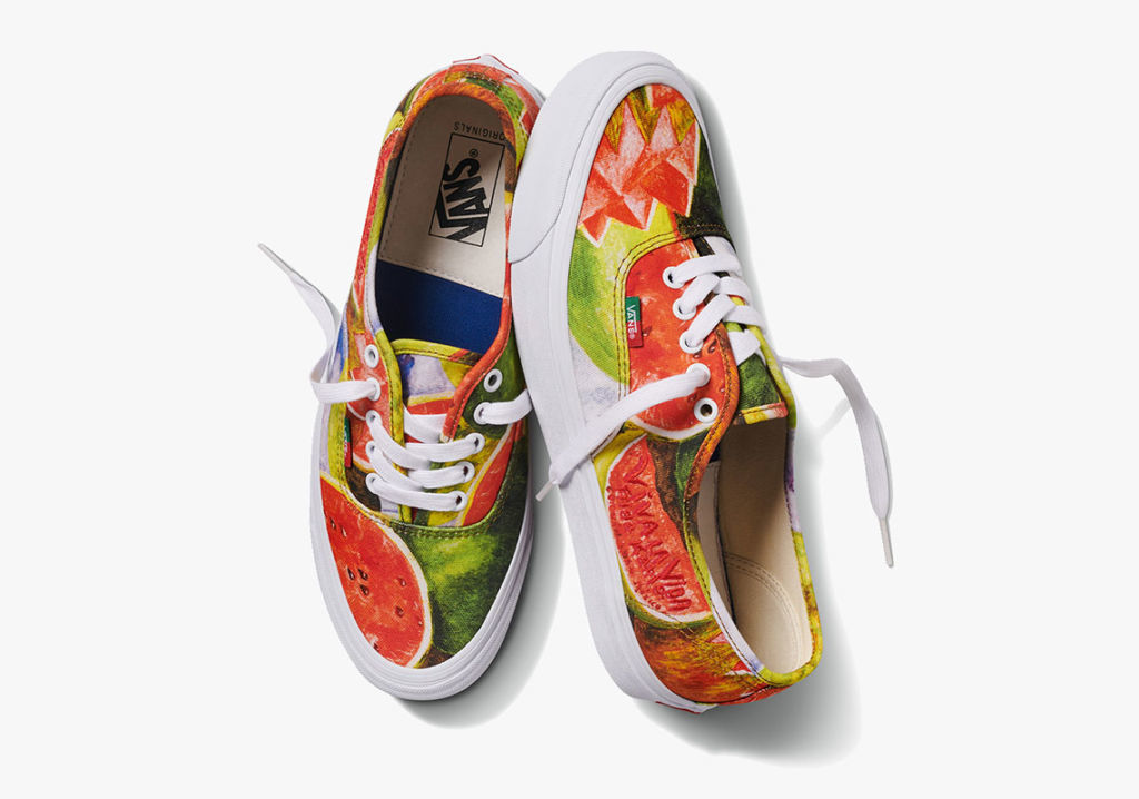 Frida Kahlo Vans Hit the Streets Soon See Vans x Frida