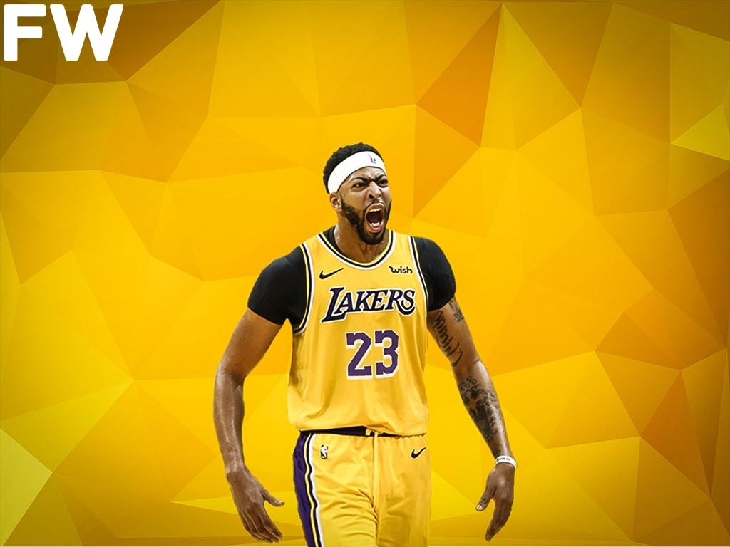 Anthony Davis I M The Best Player In The World Fadeaway