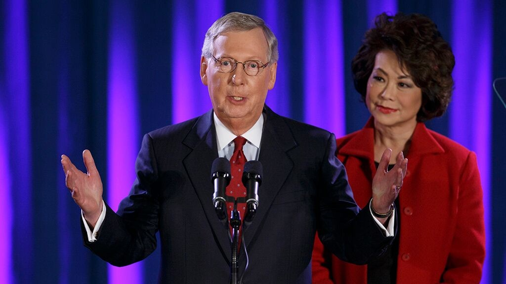 McConnell throws shade at Nike with 'Betsy Ross' flag tweet