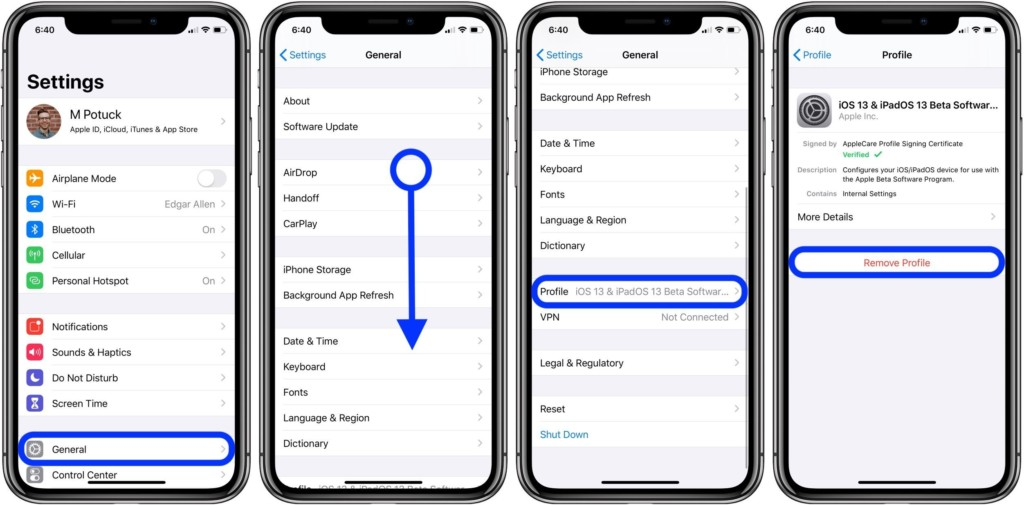 How to downgrade from the iOS 13 1 beta – 9to5Mac | e-News US