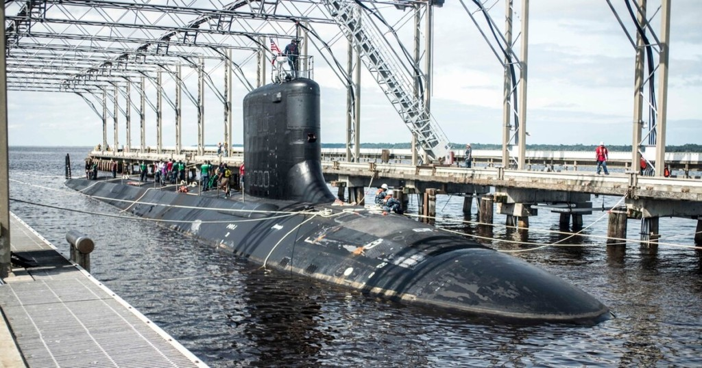 Columbia, Ohio Subs On Schedule, Despite Missile Tube