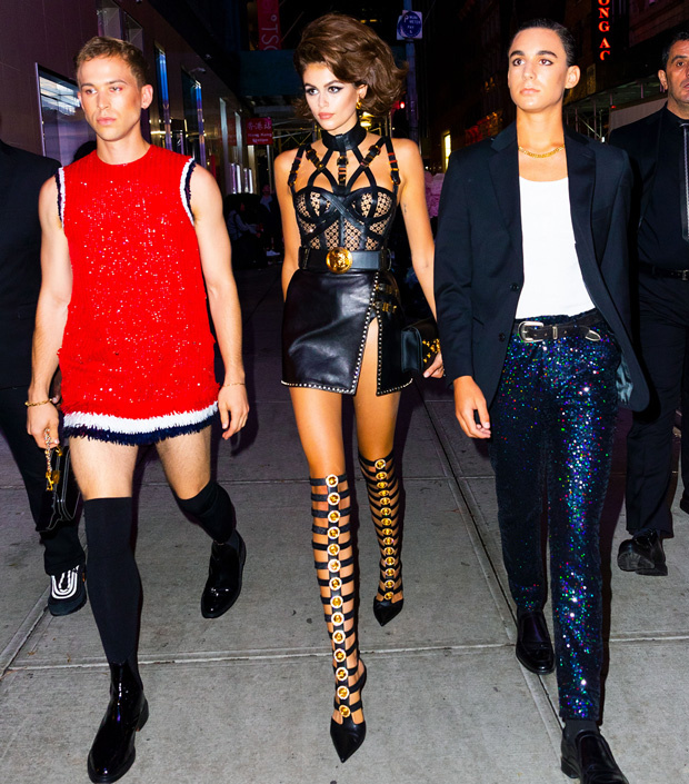 How Kaia Gerber Channels Her Mom, Cindy Crawford, on the