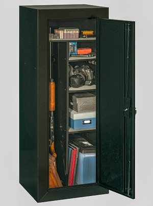 Stack On firearms cabinet
