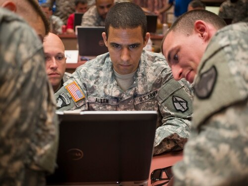 Cyber Command issued a request for information to help support its J9, responsible for acquisition and capability development. (Staff Sgt. Tracy J. Smith/Georgia Army National Guard)
