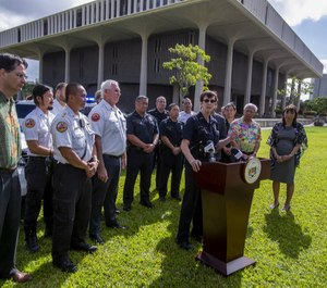 Honolulu Police Chief Susan Ballard publicly asked lawmakers to support bills restricting ammunition sales and banning rifle magazines holding more than 10 bullets. (Photo/TNS)