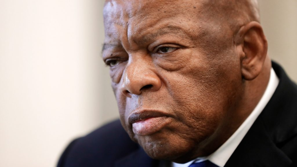 U.S. Rep. John Lewis, a civil rights icon, said he'll campaign aggressively for the former vice president despite battling stage 4 pancreatic cancer.